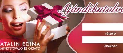 A legpraktikusabb ajándékötlet: Sminktetoválás Ajándékutalvány!