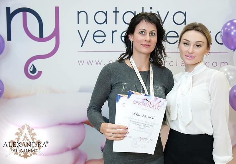 Nataliya Yeremenko sminktetováló mesterkurzusán jártam