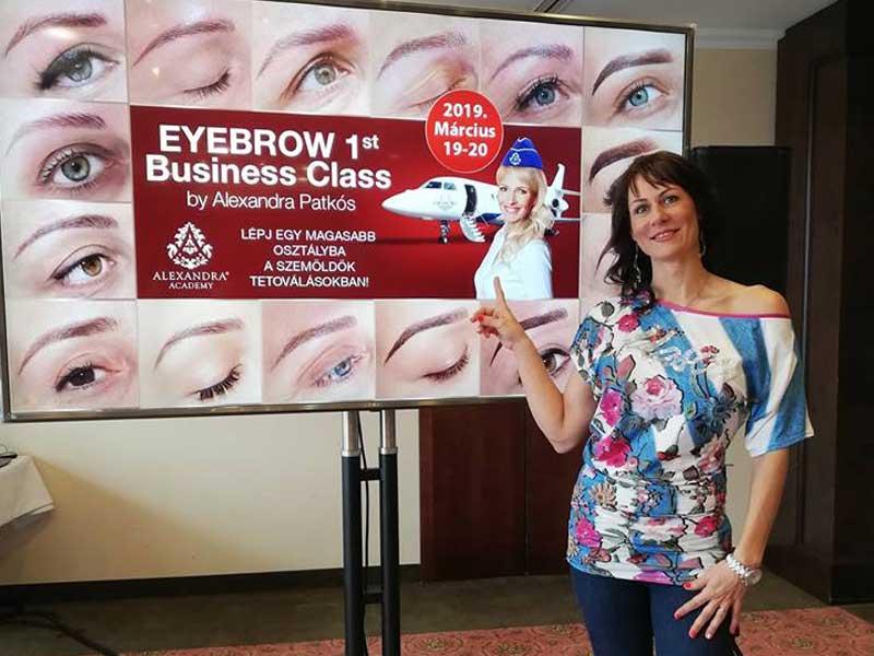 Eyebro 1st Business Class képzés Alexandra Academy